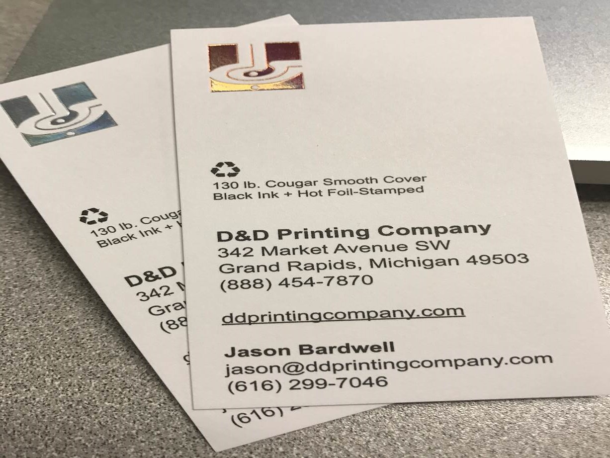 Business card archives owosso graphic arts inc business card reheart Gallery